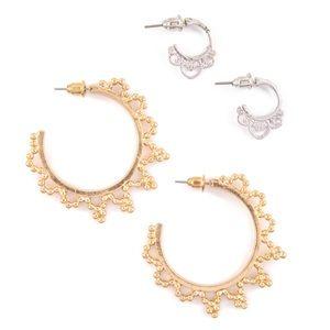 Plunder Brennan Earrings Set
